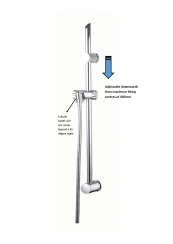 SHOWER SLIDE BARS